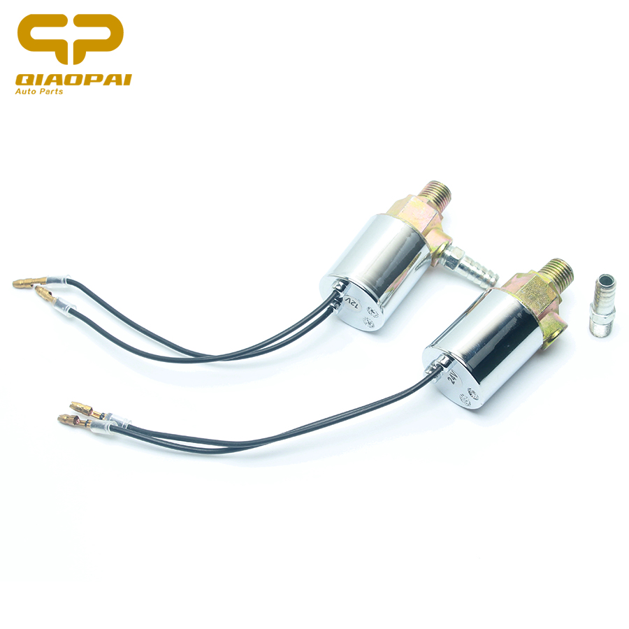 1//4 pulg 12 V/álvulas V/álvula de Solenoide El/éctrica de Aire y Sistema de Aire V/álvula de Cuerno