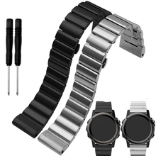 Four colours 26mm width Classic stainless steel metal strap for Gramin Band metal Band for Gramin