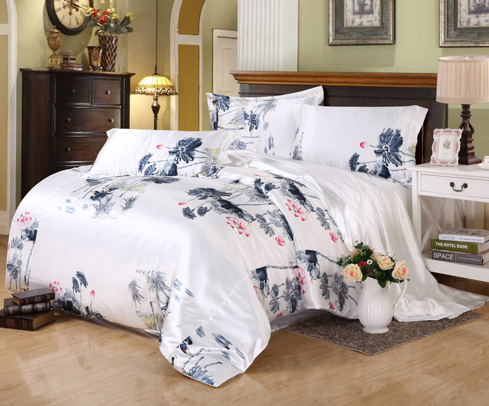 Online Buy Wholesale Faux Silk Bedding Sets From China