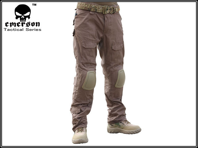Men Military Airsoft Hunting Combat bdu pants EMERSON Gen2 Tactical Panst  with Knee Pad Coyote Brown c4d42888c656