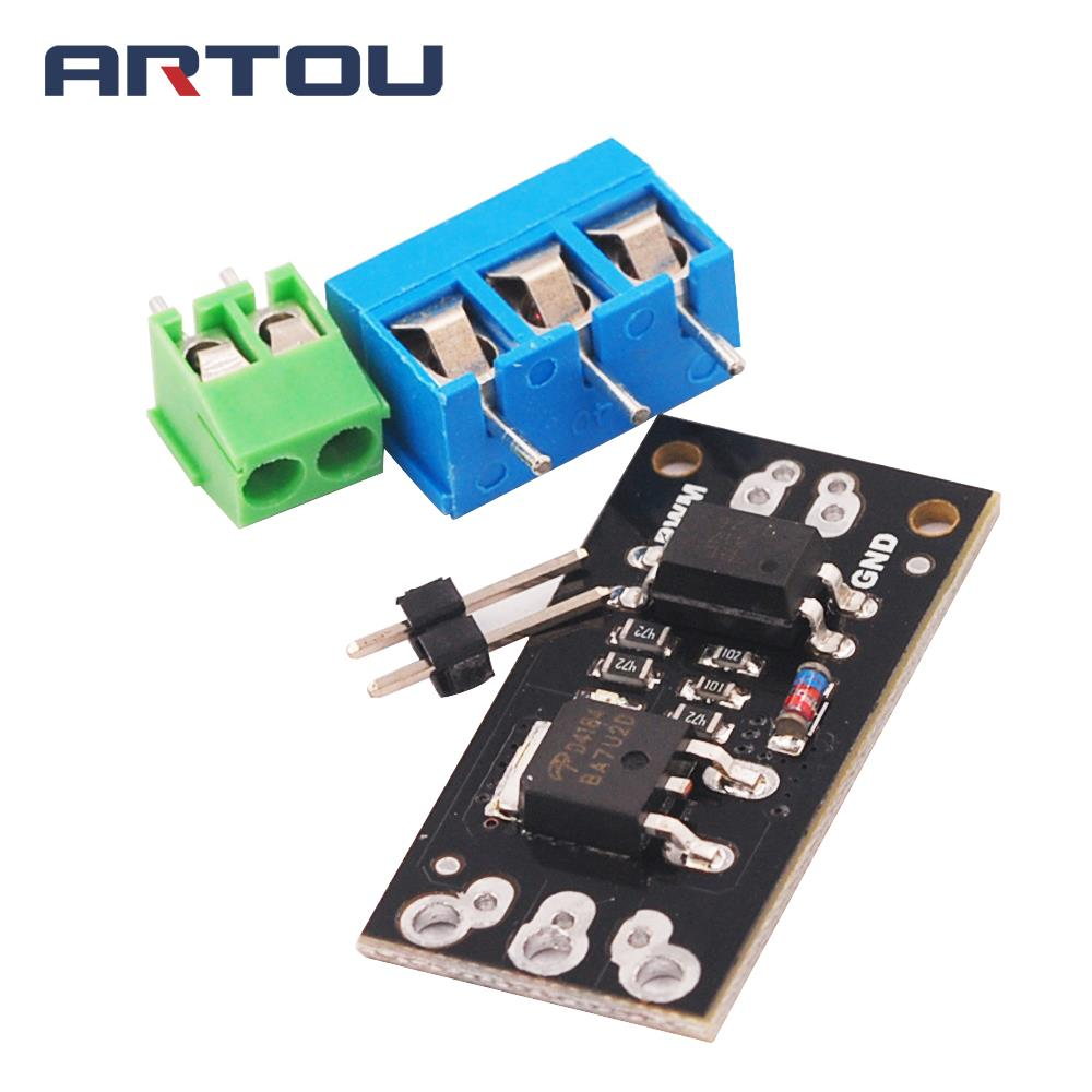 FR120N LR7843 AOD4184 <font><b>D4184</b></font> Isolated MOSFET MOS Tube FET Module Replacement Relay 100V 9.4A 30V 161A 40V 50A Board image