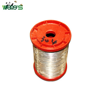 1 Kg Dia. 0.45MM, SS304 Stainless Steel Wire Spool Beehive Frame Foundation Fastener Beekeeping Tool wire