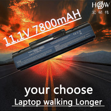 HSW 7800MAH Laptop Battery AS09A31 AS09A41 AS09A51 AS09A61 AS09A71 for Acer Aspire 4732 4732Z 4937 laptop D525 D725 battery