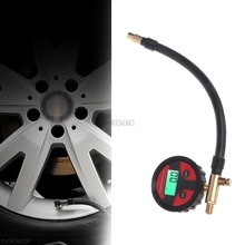 1PC 0-200PSI Digital Tyre Tire Air Pressure Gauge LCD Manometer Car Truck Motorcycle 4 Units Available M13 dropship