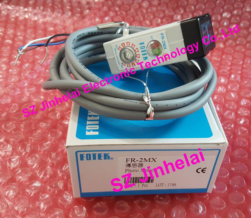 100% New and original FOTEK Photoelectric switch  FR-2MX 100% new and original fotek photoelectric switch mr 10x npn