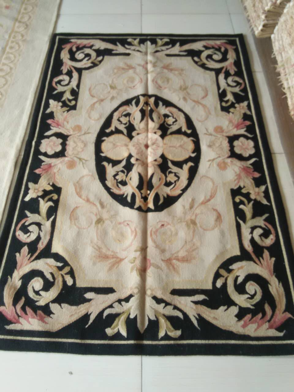 Free Shipping 4X6 Woolen Aubusson rug handmade 100% wool rugs and carpets different sizesFree Shipping 4X6 Woolen Aubusson rug handmade 100% wool rugs and carpets different sizes