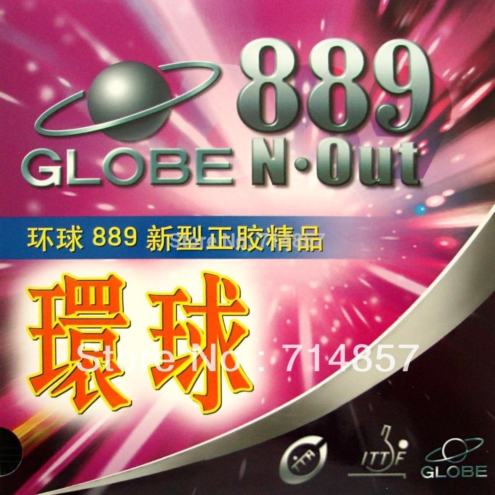 Originalni globus 889 kratki izvlečni namizni tenis / zgornji del pingpong (guma brez gobice)