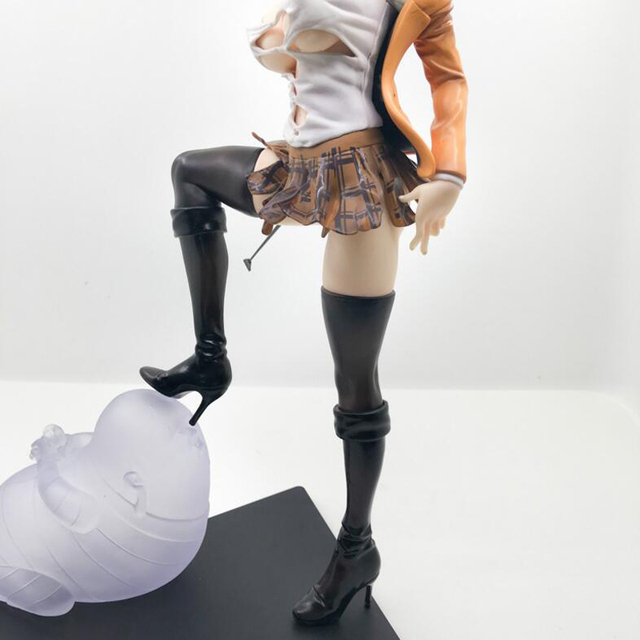 25cm sexy figure Anime Prison School Meiko Shiraki Sexy Action Figures PVC Collection Model toys brinquedos Gift 3