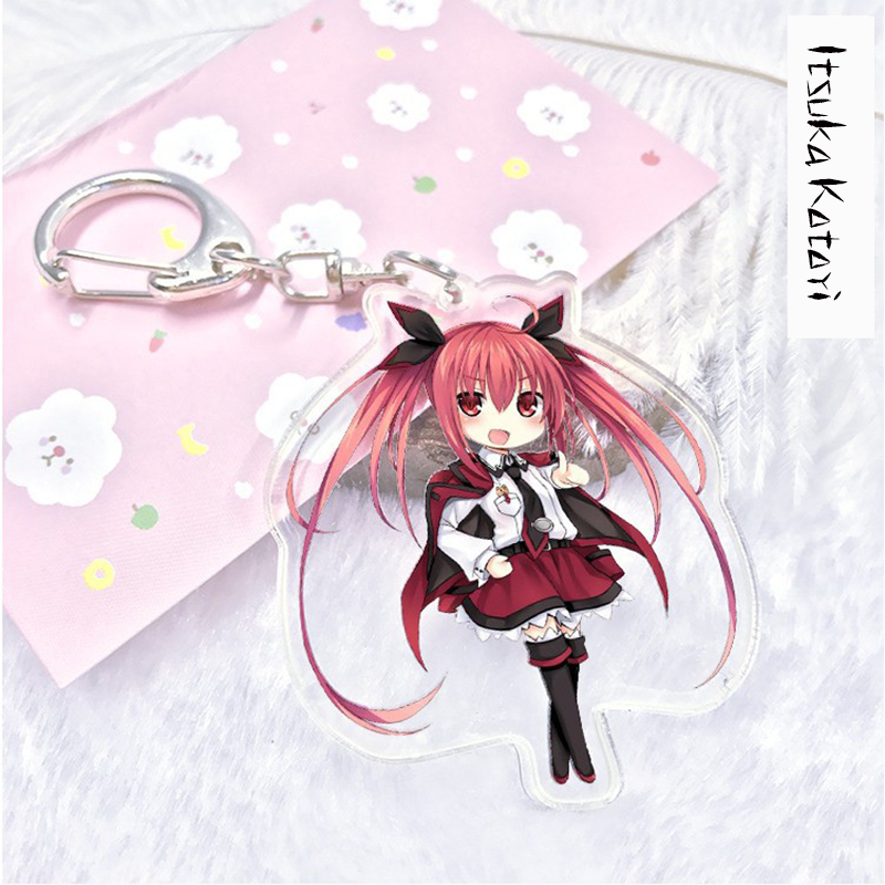 Aliexpress Buy Zhaidianshe Anime Keychain Date A Live Figure