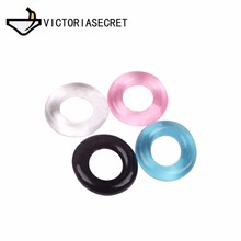 Penis Ring Reusable Bound Delay Cock Ring Sleeve Extension Condom Adult Sex Product Erotic Toys Dick Condoms For Men Dildo 1 pc