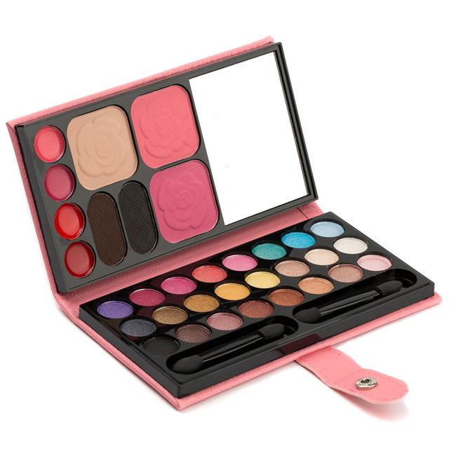 4 pçs/lote sombra bochechas rosadas vermelho combinação saco bolo sobrancelha sombra cor nude make-up multicolor atacado pérola terra