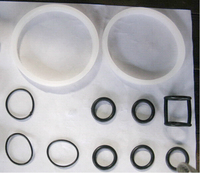 Seal Ring Replacements O ring One Set of Rings Spare Parts for BQ Ice Cream Machines