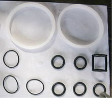 Seal Ring, Replacements O-ring, 11pcs, Spare Parts for BQ Ice Cream Machines цены