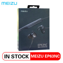 Meizu EP63NC беспроводные наушники Bluetooth 5,0 спортивные наушники стерео гарнитура IPX5 водонепроницаемые наушники с микрофоном apt-X HD