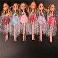 2016 Nova Princesa Boneca Da Moda Vestido de Noiva Festa De Móveis Conjuntas corpo de Plástico Brinquedos Clássicos Melhor Presente para Meninas 6 Cores A46
