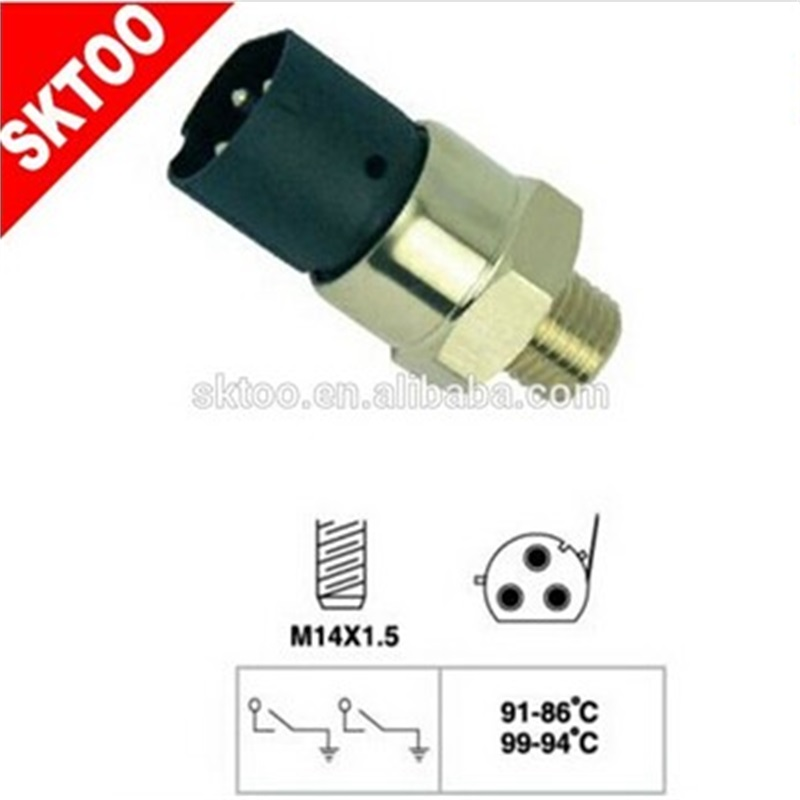 SKTOO 61311378073 FOR BMW temperature automatic switch, fan cooling (cooling system), thermal switch.13 78 0 73