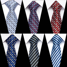 New Models 8CM Ties Gradient Color Neck solid Striped&Paisley Tie Mens Blue Black Green pink For Wedding Party