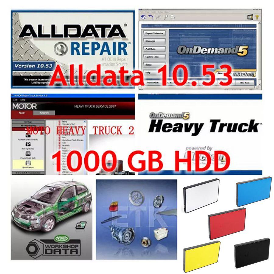 2018 All data Auto repair Software Alldata 10.53 alldata and mitchell on  demand 2015 work for