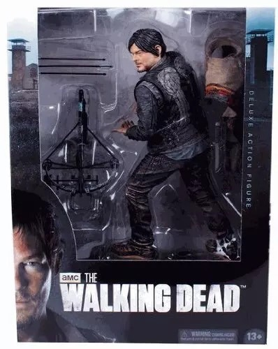 AMC TV Series The Walking Dead Daryl Dixon PVC Action Figure Collectible Model Toy 10'' 25cm neca the evil dead ash vs evil dead ash williams eligos pvc action figure collectible model toy 18cm kt3427