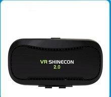 Cdragon оригинальный VR shinecon VR 360 просмотра виртуальной реальности 3D VR гарнитура Google cardboard игры Очки