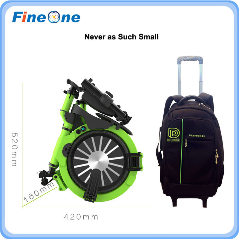 Backpack Balance Scooter Folding Electric Scooter 2 Wheel Foldable Adult Scooter Mini Smart Motor Wheel Electric Scooter Skate