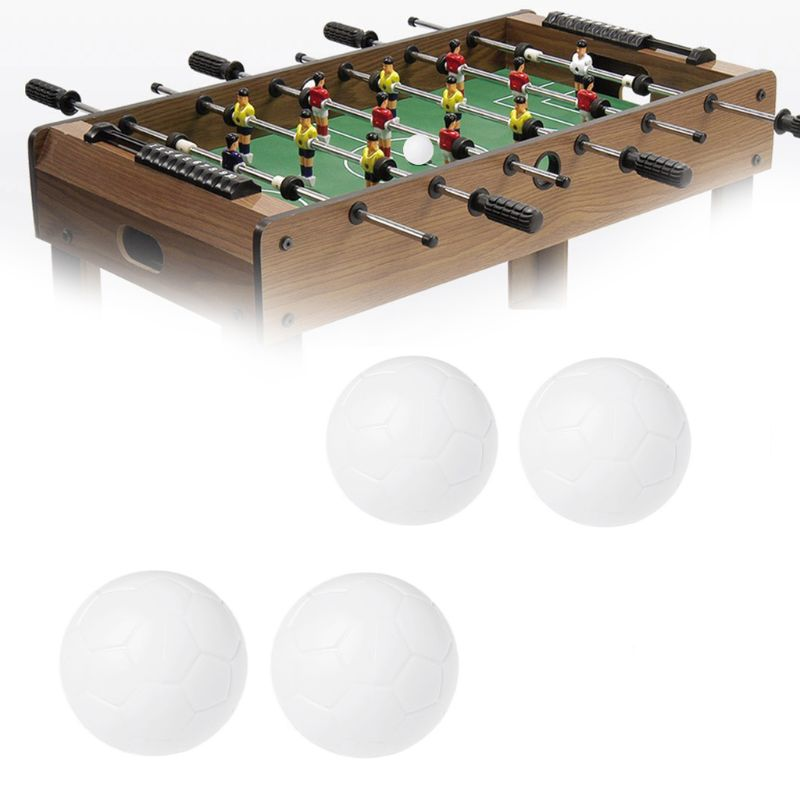 2pcs Resin Foosball Indoor Game Table Soccer Ball Fussball Football 32mm 36mm image