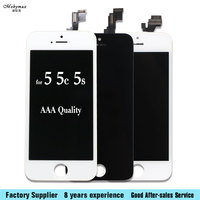 Mobymax 20 Pcs Lot For IPhone 5G 5C 5S LCD Display Touch Screen Digitizer Assembly Replacement