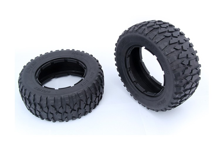 Gravel skin tire for 15 losi 5ive-t rovan lt king motor x2 rc car parts