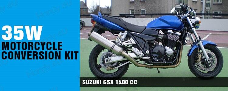 SPARE BULB KIT H1 H4 H7 1400cc GSX1400