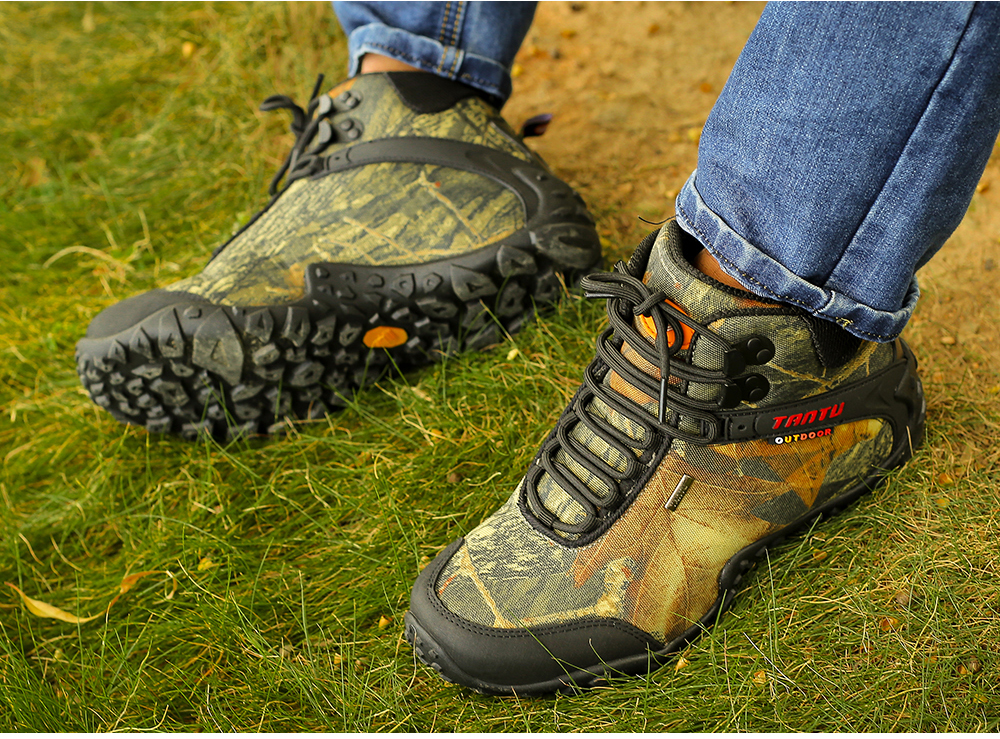 Outdoor Camouflage Tactical Sport Men\`s Shoes (24)