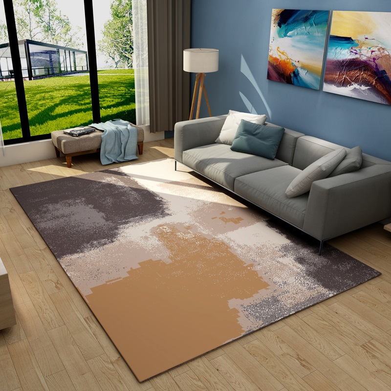 Modern Abstract Art Flannel Crystal Fabric Thicken Carpet High Quality 3D printing Large Short Plush Rugs Hotel Parlor Floor MatModern Abstract Art Flannel Crystal Fabric Thicken Carpet High Quality 3D printing Large Short Plush Rugs Hotel Parlor Floor Mat