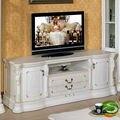 Branco gabinete TV madeira maciça armário TV