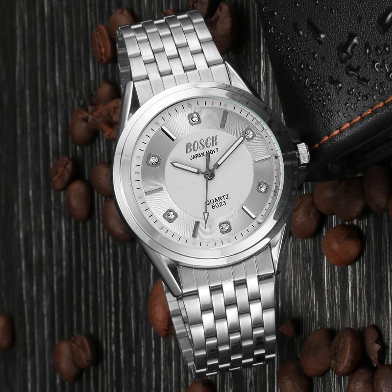 men  Fashion Watch Stainless Steel Unisex Concise Casual Luxury Business Wristwatch98men  Fashion Watch Stainless Steel Unisex Concise Casual Luxury Business Wristwatch98