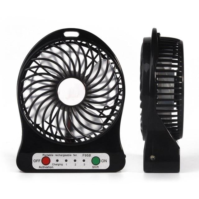 Home Appliance USB Mini Fan Portable Electric Fans LED Portable ...