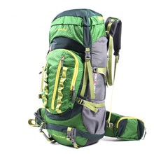 VILEAD Professional Waterproof CR Adjustable Straps Rucksack Internal Frame Climbing Camping Hiking Backpack Mountain Bag 45+10L