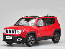 Red 1 18 Jeep Renegade 2016 Cherokee City SUV Alloy Toy Car