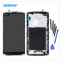 Black For LG V10 H960 H900 VS990 LCD Display Touch Screen Digitizer Panel Assembly Parts Bezel