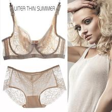 Summer ultra thin bra large C/D cup bra
