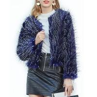 Furry Women Fur Coat Women Fluffy Warm Long Sleeve Outerwear Autumn Winter Coat Jacket Women Top Plus Size 3XL