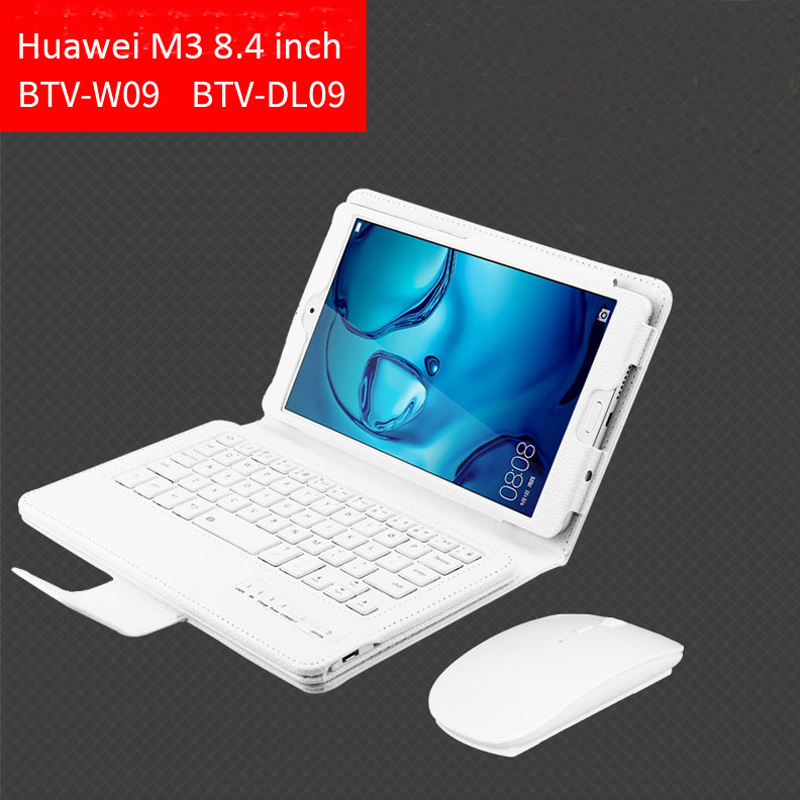 For Huawei Mediapad M3 8.4 case Wireless Bluetooth Keyboard Case For huawei mediapad M3 BTV-W09 BTV-DL09 Keyboard case cove