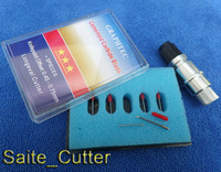 1 Pc Holder For Silhouette Cameo Craftrobo 10pc 45 Degree Cutting Blades Knife Graphtec CB09 Vinyl