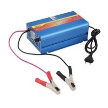 220 V 30A 12 V Cargador inteligente Cargador de Batería de La Motocicleta Del Coche de Entrada de 12 V de Plomo Ácido Cargador de LA UE Plug caliente venta