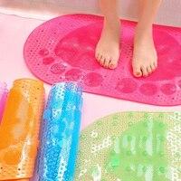 איכות גבוהה אנטי להחליק מחצלת אסלת חדר האמבטיה PVC כוס יניקה מקיר לקיר שטיח אמבטיה שטיח מטבח שטיח אמבטיה אסלה חדר רחצה