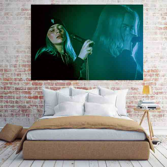 Billie Eilish Hot Music Singer Star Hot Art Poster Print Home Wall Decoration8x12 12x18 24x36 Decor Canvas Room Decor Buy At The Price Of 2 18 In Aliexpress Com Imall Com