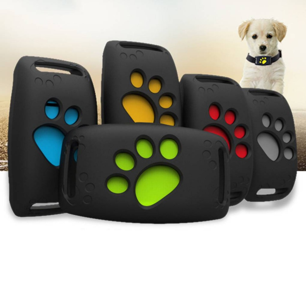 Traqueur pour animaux de compagnie GPS Intelligent Anti-chute localisateur pour animaux de compagnie Mini chien chat positionneur rappel sans fil Intelligent dispositif de suivi rose