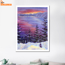 COLORFULBOY Claude Monet Impression Sunrise Landscape Canvas Art Oil Painting Poster Print Wall Picture for Living Room Cuadros selflessly wall impressionism monet wild poppy field sunrise landscape canvas painting art print poster picture painting