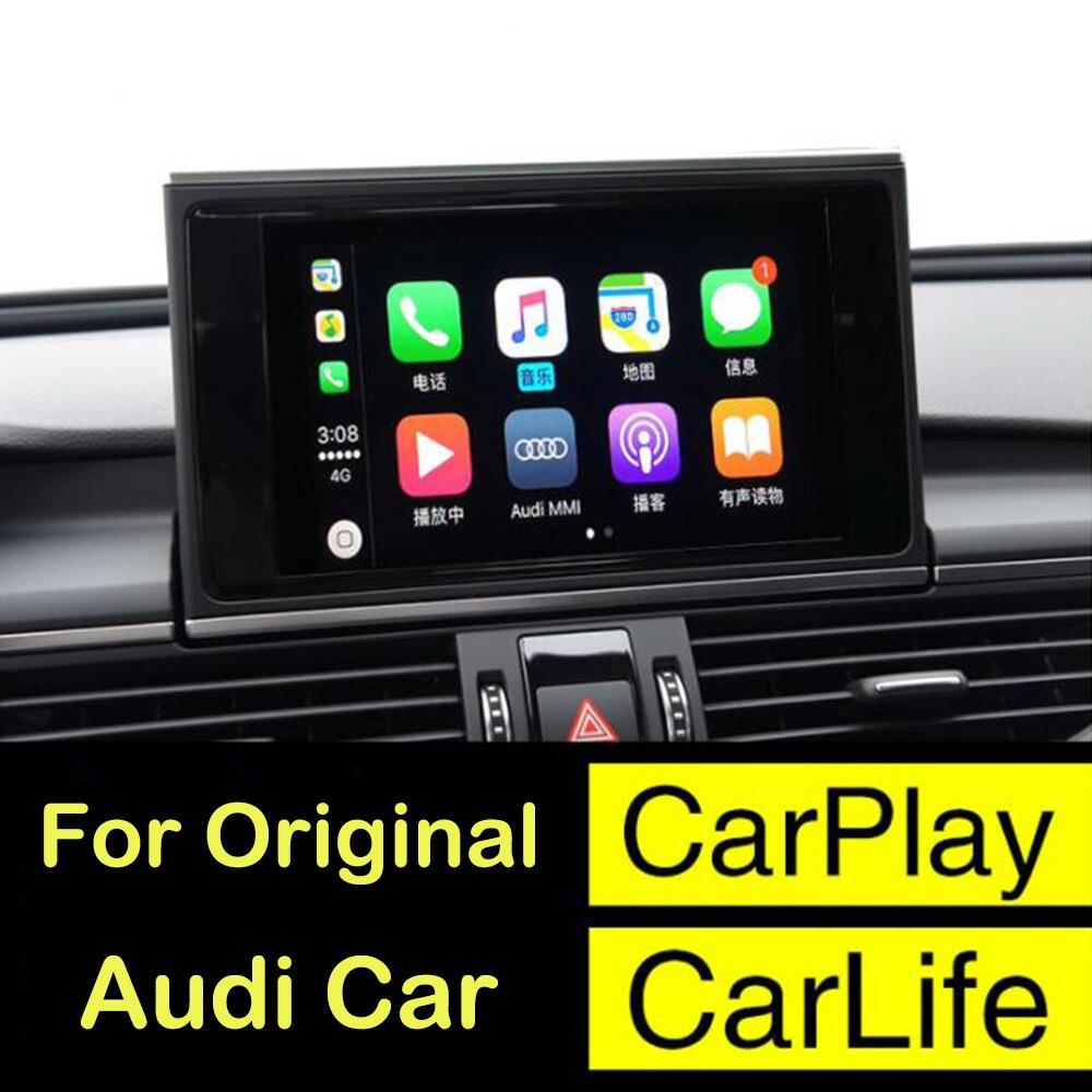 2018 New Ios Car Le Airplay Android Auto Carplay Box For Audi A3 A4 A5 A6