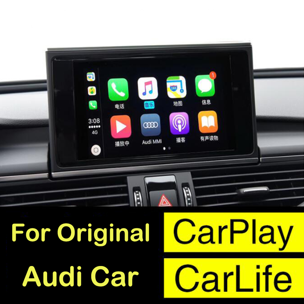 2018 New IOS Car Apple Airplay Android Auto CarPlay Box For Audi A3 A4 A5 A6 A7 A8 B9 Q3 Q5 Q7 S4 S5 Original Screen Upgration