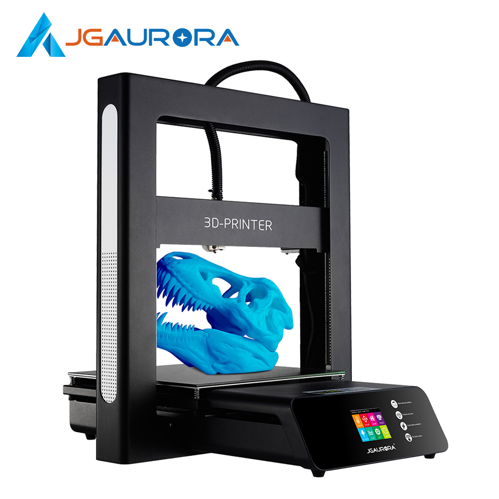 JGAURORA A5 3D Printer Full Metal High Precision Desktop Printing Machine with Touch Screen Large Build
