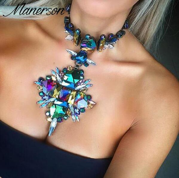 04ee654ce4 Aliexpress.com : Buy 2017 New Arrival trendy vintage rhinestone choker  necklace Multi function pendant necklace statement jewelry wholesale from  ...